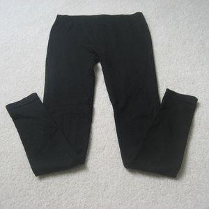 Just One Black Yoga Pants Medium